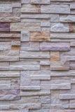 Felsen-Wandziegelstein des Hintergrundes alter/Wandsteinbeschaffenheit Lizenzfreie Stockbilder