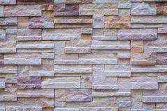 Felsen-Wandziegelstein des Hintergrundes alter/Wandsteinbeschaffenheit Lizenzfreie Stockfotos