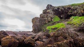 Felsen zu klettern Stockbilder