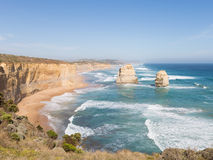 Felsen zwölf Apostel in Australien Lizenzfreies Stockbild