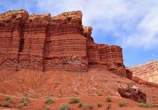 Felsenanordnung im Kapitol-Riff-Nationalpark, Utah Lizenzfreies Stockbild