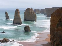 Felsenanordnungen in Australien Lizenzfreie Stockfotos