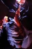 Felsenanordnungen in der oberen Antilopen-Schlucht Lizenzfreie Stockbilder