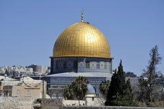 Felsendomtempel, Jerusalem. lizenzfreies stockbild