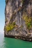 Felsenentlastungen thailändisch Lizenzfreie Stockfotografie