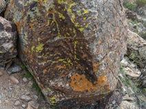 Felsenfarben, Arizona-Wüste stockfotos
