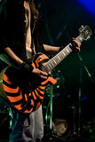 Felsengitarrist Stockfotos