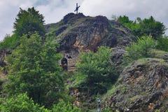 Felsenkapelle stPetka Stockfotos