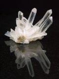 Felsenkristall Stockfoto