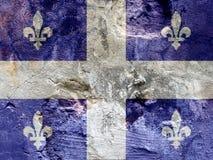 Felsenmarkierungsfahne von Quebec Lizenzfreie Stockfotos