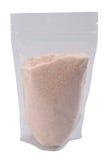 Felsensalzkristalle im freien Paket stockbilder
