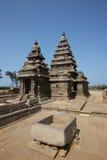 Felsentempel im mahabalipuram stockfoto
