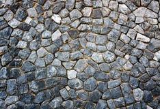 Felsenwand Stockfoto