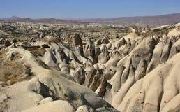 Felsformation in Cappadocia Stockbild