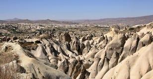 Felsformation in Cappadocia Stockfotografie