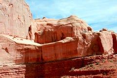 Felsformation des roten Sandsteins wölbt Nationalpark Lizenzfreie Stockfotos