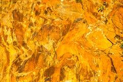 Felsformation in Fall-goldenem Licht II Stockfotografie