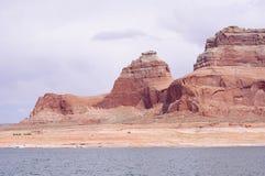 Felsformation in Glen Canyon, Arizona, USA Lizenzfreie Stockfotos