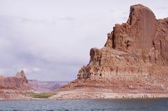 Felsformation in Glen Canyon, Arizona, USA Lizenzfreie Stockfotografie