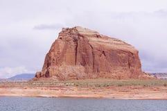 Felsformation in Glen Canyon, USA Lizenzfreie Stockfotografie