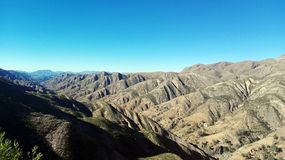 Felsformation in Toro Toro, Bolivien lizenzfreie stockfotografie