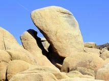 Felsformationen bei Joshua Tree National Park stockbild