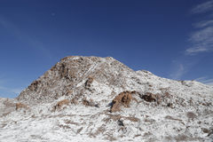 Felsformationen des Mond-Tales, Atacama-Wüste, Chile Lizenzfreies Stockfoto