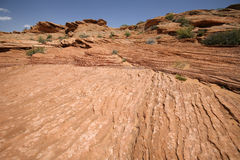Felsformationen in Glen Canyon, Arozona, USA Stockbild
