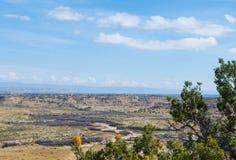 Felsige Aussicht im Wüstensüdwesten Lizenzfreie Stockbilder