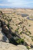 Felsige Aussicht im Wüstensüdwesten Lizenzfreie Stockfotos