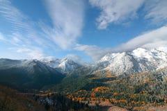 Felsige Berge Stockfoto