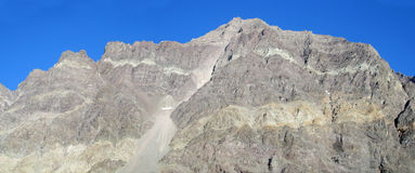 Felsige Berge Anden Stockfotografie