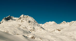 Felsige Berge im Winter Lizenzfreie Stockfotografie