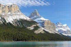 Felsige Berge - Kanada Stockfotos