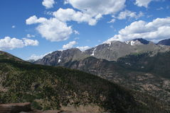 felsige Berge von Colorado Stockfotos