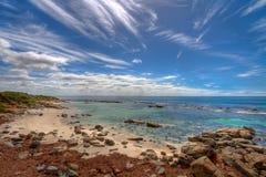 Felsige Bucht stockfoto