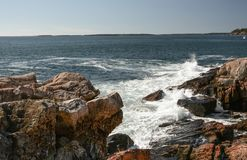 Felsige Küste Lizenzfreie Stockfotografie