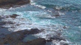 Felsige Küste stock video