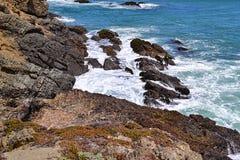Felsige Küste Lizenzfreies Stockfoto