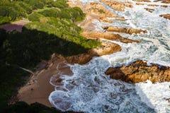 Felsige Küste Lizenzfreie Stockbilder
