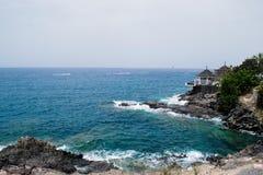 Felsige Küste in Costa Adeje, Teneriffa, Kanarische Inseln Lizenzfreies Stockfoto