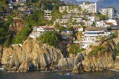 Felsige Küste von Acapulco Lizenzfreie Stockbilder