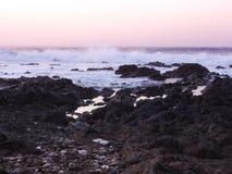Felsige Küste von Teneriffa an Puerto De Santiago, Teneriffa stockfoto