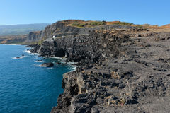 Felsige Küstenlinie Stockfoto