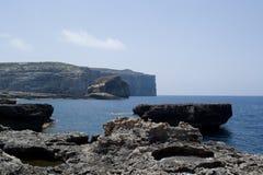 Felsige Küstenlinie Stockfotos