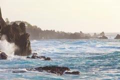 Felsige Klippen von Tenerife Lizenzfreie Stockfotos