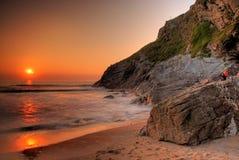 Felsige Küste Lizenzfreies Stockbild