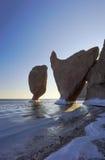 Felsige Landschaften von Meer von Japan-6 Lizenzfreie Stockfotos