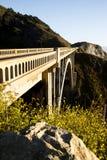 Felsige Nebenfluss-Brücke Stockfotos