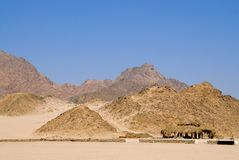 Felsige Wüste Stockfotografie
